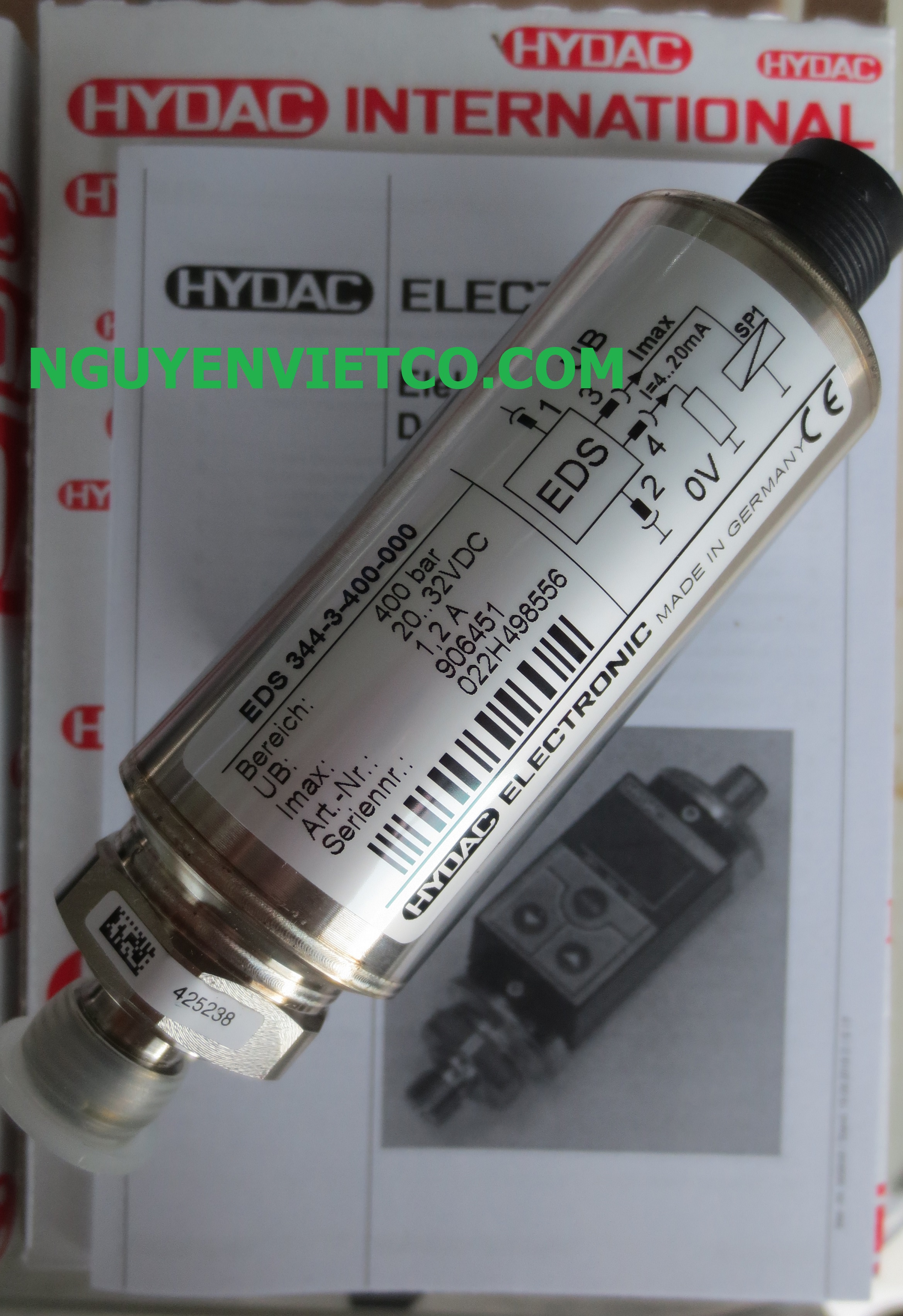 Pressure Switch EDS 344-3-400-000